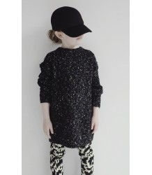 Soul's Aflame DISCO BLACK Knitted Sweater Caroline Bosmans Soul's Aflame DISCO BLACK Knitted Sweater
