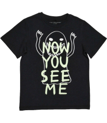 Stella McCartney Kids Arrow T-Shirt NOW YOU SEE ME Stella McCartney Kids Arrow T-Shirt NOW YOU SEE ME, NOW YOU DONT
