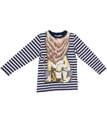 Stella McCartney Kids Barley LS T-shirt LION Stella McCartney Kids Barley LS T-shirt LION
