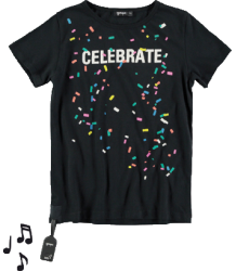 Yporqué Celebrate Tee (GELUID) Yporque Celebrate Tee