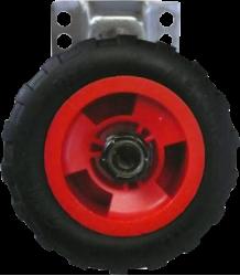 Leçons de Choses Meccano Wheel Wall Hook Lecons de Choses Meccano Wiel Muurhaak rood