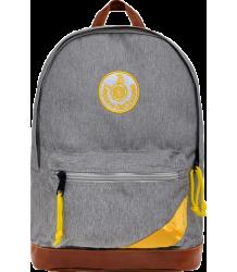 Leçons de Choses Retro BackPack Lecons de Choses Retro satchel gris yellow