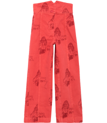 The Animals Observatory Ant Kids Pants AOP PATTI The Animals Observatory Ant Kids Pants red allover Patti