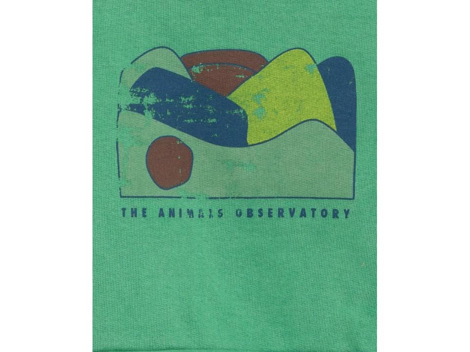 73cd1cc57623 The Animals Observatory Bear Babies Sweatshirt LANDSCAPE - Orange