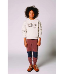 The Animals Observatory Mammoth Kids Sweat Pants The Animals Observatory Mammoth Kids Sweat Pants deep brown