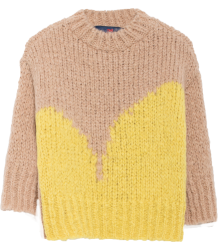 The Animals Observatory Bull Kids Sweater The Animals Observatory Bull Kids Sweater acid yellow