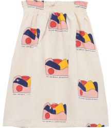 The Animals Observatory Dove Kids Skirt AOP LANDSCAPE The Animals Observatory Dove Kids Skirt AOP LANDSCAPE