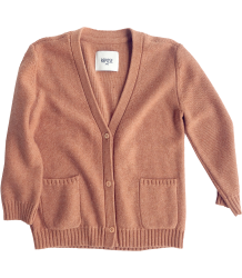 Repose AMS Vest Repose AMS knitte cardigan fawn