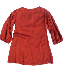 Repose AMS Dress Washed Silk Repose AMS dress washed silk terra red