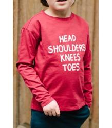 Repose AMS Long Sleeve HEAD SHOULDERS Repose AMS Long Sleeve HEAD SHOULDERS red