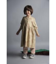 Bobo Choses Sweat Jurk KONIJNTJES AOP Bobo Choses Fleece dress bunnies