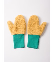 Bobo Choses Mitten Gloves Bobo Choses Handschoenen ocher and green