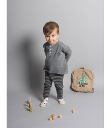 Bobo Choses T-shirt LS with Buttons METAMORFOSE Bobo Choses T-shirt LS with Buttons METAMORPHOSIS dark grey