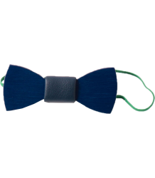 Bobo Choses Wood Bow Tie Bobo Choses Houten Vlinder Strik blauw