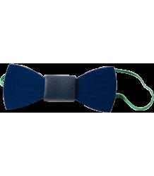 Bobo Choses Wood Bow Tie Bobo Choses Houten Vlinder Strik blauw