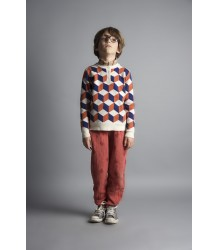 Bobo Choses Knitted Jumper OP ART Bobo Choses Knitted Jumper OP ART orange and blue