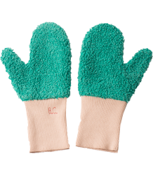 Bobo Choses Mitten Gloves Bobo Choses Handschoenen green and creme