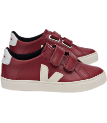 VEJA Esplar Small Velcro Leather MARSALA Veja Esplar Small Velcro Leather MARSALA