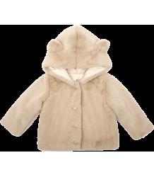 Emile et Ida Faux Fur Baby Coat Emile et Ida Fake Fur Baby Jasje