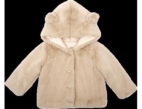 Emile et Ida Faux Fur Baby Coat