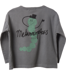 Bobo Choses T-shirt LS with Buttons METAMORFOSE Bobo Choses T-shirt LS with Buttons METAMORFOSE grey