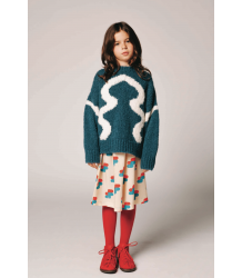 The Animals Observatory Bull Kids Sweater The Animals Observatory Bull Kids Sweater electric blue