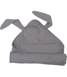 Oeuf NYC Swaddle BUNNY Oeuf NYC Swaddle BUNNY grey with dots