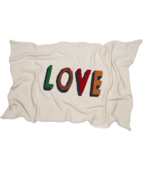 Oeuf NYC Blanket LOVE Oeuf NYC Blanket LOVE