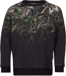 Someday Soon Owen Crewneck Someday Soon Owen Crewneck green aop