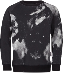 Someday Soon Micah Crewneck Micah Crewneck black and white