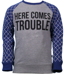 Here Comes Trouble Sweatshirt The Future is Ours Here Comes Trouble Sweatshirt