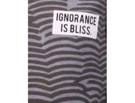 The Future is Ours Ignorance is Bliss Sweatshirt