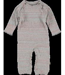 Kidscase Sugar Organic Suit Kidscase Sugar Organic Suit pink grey