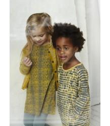 Kidscase Hunter Organic Dress Kidscase Hunter Organic Dress ocre yellow