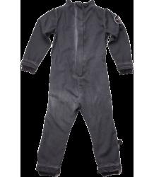 Nununu Cotton Aviator Overall Nununu Aviator Overall dyed black