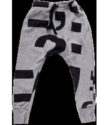 Nununu Baggy Pants PUNCTUATION Nununu Baggy Pants PUNCTUATION grey melange