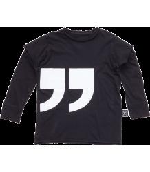 Nununu QUOTATION T-shirt LS Nununu QUOTATION T-shirt LS black