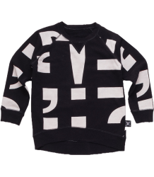 Nununu Pullover PUNCTUATION Nununu Pullover PUNCTUATION black and white