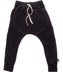 Nununu VELVET Baggy Pants Nununu VELVET Baggy Pants black