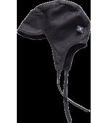 Nununu LEATHER Shapka Hat Nununu LEATHER Shapka Hat black