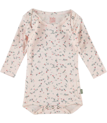 Kidscase Happy Organic NB Body Kidscase Happy Organic NB Body soft pink and flowers