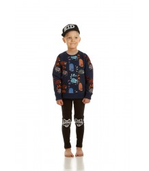 Filemon Kid Legging Printed Knees Filemon Kid Legging Printed Knees