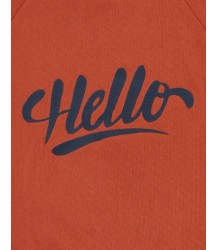 Soft Gallery Chaz Light Sweatshirt HELLO Soft Gallery Chaz Light Sweatshirt HELLO