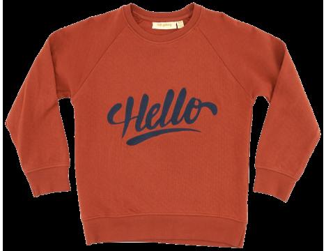 Soft Gallery Chaz Light Sweatshirt HELLO