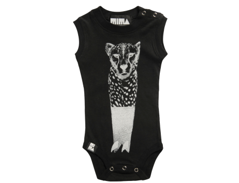 Mini & Maximus Cheetah Surf Onesie