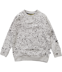 Munster Kids Splatter Sweatshirt Munster Kids Splatter Sweatshirt grey melange