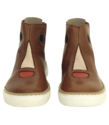 Tiny Cottons Face Boots Tiny Cottons Face Boots camel brown