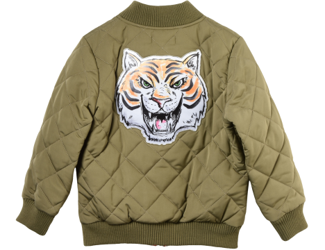 Stella McCartney Kids Knox Bomber Jacket TIGER