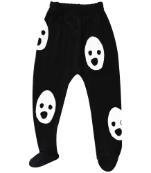 Beau LOves Baby Pants with Feet GHOSTS Beau LOves Baby Pants with Feet GHOSTS