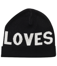 Beau LOves Jacquard Knitted Hat LOVES Beau LOves Jacquard Knitted Hat LOVES